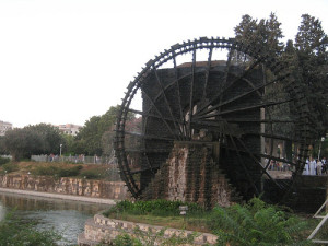 water wheel homs